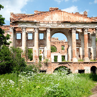 Бывшая загородная усадьба князей Вяземских
