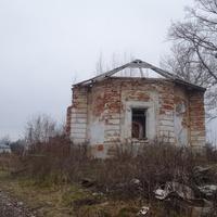 Руины Петропавловской церкви