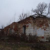 Руины Петропавловской церкви в Белеве