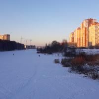 Солнечный день над Пехоркой.