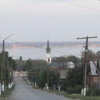 Вид на Хвалынск