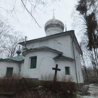 Церковь Дмитрия Мироточивого в Любятово