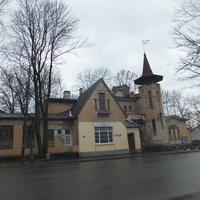 Здание заводоуправления льнопрядильной и бечевочной фабрики инженера-технолога немца Генриха Юльевича Мейера