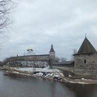 Вид на Кром. Башня Плоская