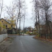 Перекресток в поселке Северный