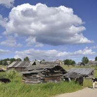 Деревенские постройки