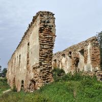 Остатки замка  в Гольшане