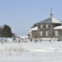 Никольская церковь на берегу Пинеги