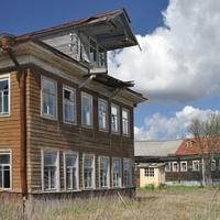 Здание бывшего пионерского лагеря