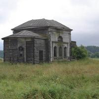 Старое деревенское здание
