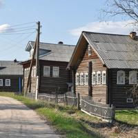 Улица в деревне Вороновская