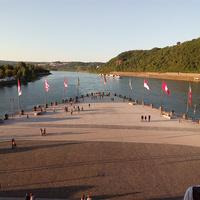 Угол Германии - место слияния двух рек Мозеля и Рейна