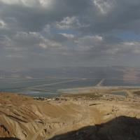 Добыча соли в Мертвом море