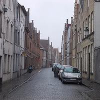 Улица в городе Брюгге