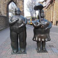 Памятник в городе