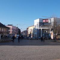 Площадь около ратуши
