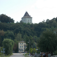Улица город и замок