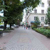 Пешеходная дорожка в Тернополе