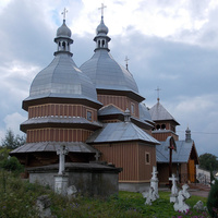 Деревянная церковь св.Николая