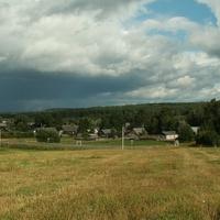 Панорама деревни Ерёмино.