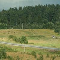 Околица деревни Ерёмино.