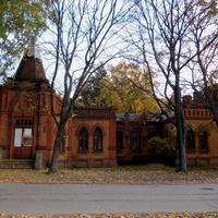 Старое здание  в городе