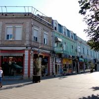Улица в городе Бургас