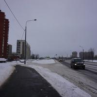 На проспекте Маршала Жукова.