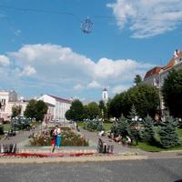 Театральная площадь в Черновцах
