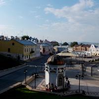Вид на городскую площадь