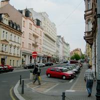 Улица в Карловых Варах