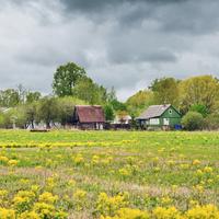 Окраина деревни