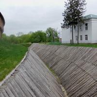 Ров около Батуриснкой крепости