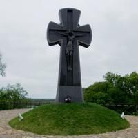 Крест в честь погибших Батуринцев