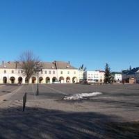Площадь в городе Жовква
