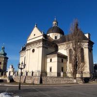 Костел Святого Лаврентия в городе Жовква
