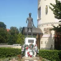 Памятник венгерскому поэту Шандору Петефи
