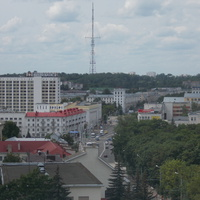 Вид из окна ВГМУ