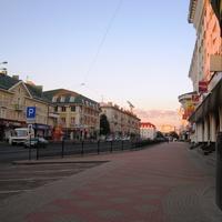 Улица в городе Ровно