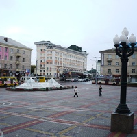 Площадь в городе Ровно