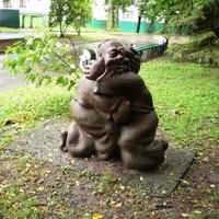 Скульптура в парке Шевченко