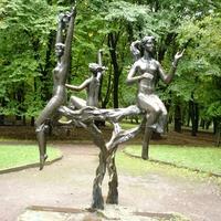 Скульптура в парке имени Шевченко
