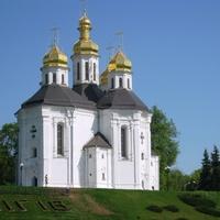 Катерининская церковь в городе Чернигов