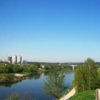 Вид на реку Неману