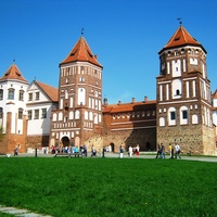 Замок в городе Мир