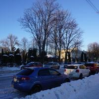 На Санкт-Петербургском шоссе.