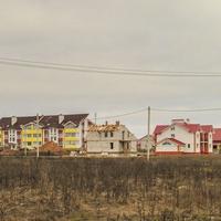 Микрорайон на окраине поселка