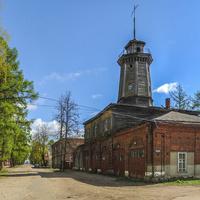 Бывшее здание пожарного депо