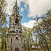Колокольня церкви Спаса Преображения