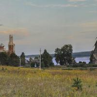 Ширков погост на берегу озера Вселуг
